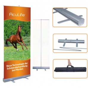 Acu Life Lifewave RollUp Display